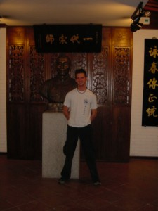 Paul at Ip Man's temple1