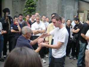 Paul with Ip Chun